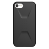 Urban Armor Gear  - Civilian Case For iPhone Se / 8 / 7 / 6s / 6 - Black