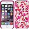 kate spade new york Hybrid Hardshell Case for iPhone 6/6s - Confetti Hearts Multi/Crystal Stones
