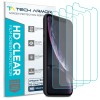 Tech Armor HD Clear PET Screen Protector for iPhone XR - 4-pack