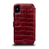 Sena iPhone X/Xs Walletbook Classic Crimson