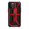 Urban Armor Gear Monarch Case For iPhone 12/iPhone 12 Pro - Crimson And Black