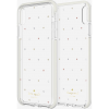 kate spade new york Defensive Hardshell Case (1-PC Comold) for iPhone Xs Max - Pin Dot Gems/Pearls/Clear