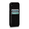 Sena Deen iPhone X/Xs Snap On Wallet Black