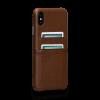 Sena Deen iPhone Xs Max Snap On Wallet Saddle