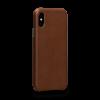 Sena Deen iPhone XR LeatherSkin Saddle