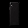 Sena Deen iPhone XR LeatherSkin Black