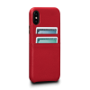 Sena Kyla iPhone XR SnapOn Wallet Red