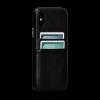 Sena Kyla iPhone X/Xs SnapOn Wallet Black