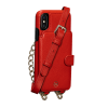 Sena Kyla iPhone Xs Max Crossbody Snap On Red
