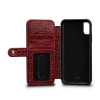 Sena iPhone Xs Max Walletbook Classic Crimson
