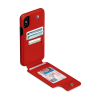 Sena iPhone XR Wallet Skin Red