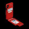 Sena iPhone Xs Max Wallet Skin Red