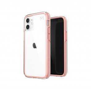 Speck iPhone 12 mini PRESIDIO PERFECT-CLEAR GEO - CLEAR/ROSY PINK