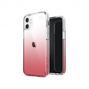 Speck iPhone 12 mini PRESIDIO PERFECT-CLEAR OMBRE - CLEAR/VINTAGE ROSE