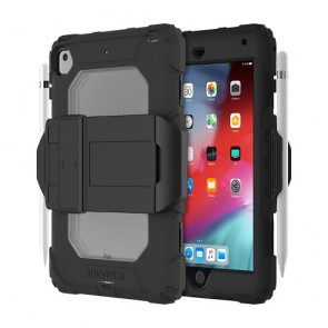 Griffin Survivor All-Terrain (w/ kickstand) for iPad Mini 5 - Black/Smoke
