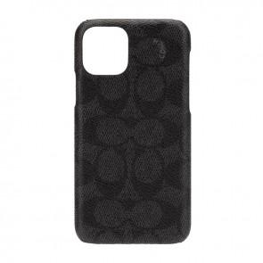 Coach Slim Wrap Case for iPhone 11 Pro - Signature C Black