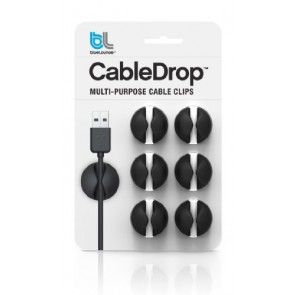 Bluelounge CableDrop Cable Management System - Black