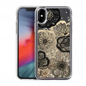 Laut LIQUID GLITTER iPhone X/Xs FLEUR