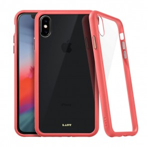 Laut ACCENTS TEMPERED GLASS iPhone Xs Max CORAL