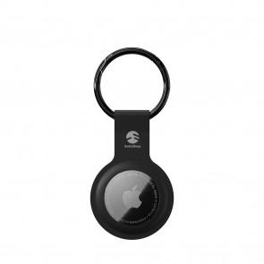 SwitchEasy AirTag Skin Silicone Keychain Black