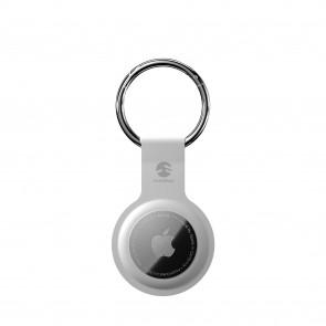 SwitchEasy AirTag Skin Silicone Keychain White