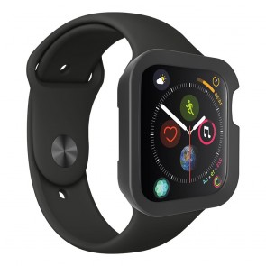 SwitchEasy Colors Case for Apple Watch 6&SE&5&4 44mm Black