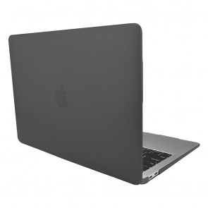 SwitchEasy Nude Case for MacBook Air 13-in (2018),Translucent Black