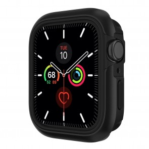 SwitchEasy Odyssey premium 2-in-1 metail + TPU bumper case for Apple Watch 6&SE&5&4 44mm Space Black