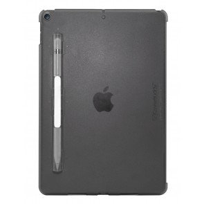 SwitchEasy CoverBuddy for iPad 10.2-in (2020-2019), Transparent Black