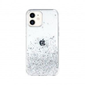 SwitchEasy Starfield for iPhone 12 mini Transparent
