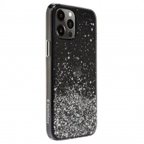 SwitchEasy Starfield for iPhone 12 Pro/12 Transparent Black