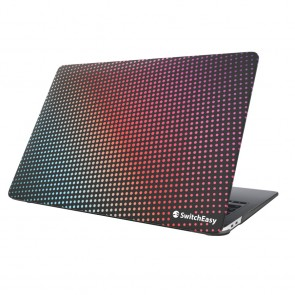 SwitchEasy Dots Protective Case for MacBook Air 13 Retina 2018-2020/M1 2020 Rainbow