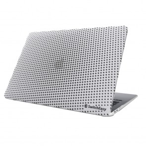 SwitchEasy Dots Protective Case for MacBook Air 13 Retina 2018-2020/M1 2020 Ice