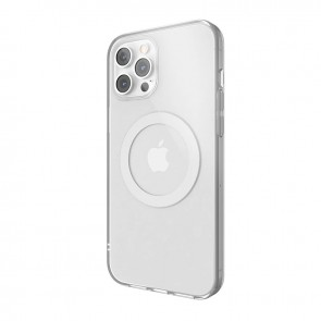 MagEasy MagClear for 2020 iPhone 12 Pro Max (Compatible with Apple MagSafe) Silver