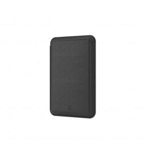 SwitchEasy Mag Wallet MagSafe Leather Card Holder Black
