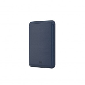 SwitchEasy Mag Wallet MagSafe Leather Card Holder Navy Blue