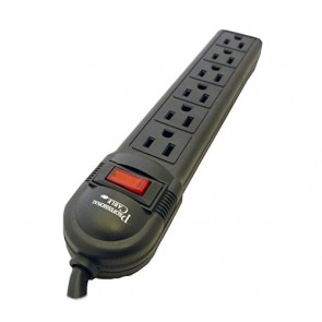 Professional Cable 6 Outlet Surge Protector - Retail Packaging - 4 Feet