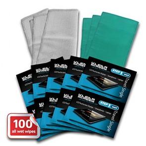 100 Klear Screen Bulk Pack Travel Singles
