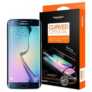 Spigen Galaxy S6 Edge Steinheil Curved Crystal screen protector