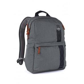 STM banks backpack - fits up to 15 laptop tornado grey
