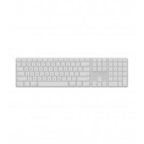 Matias Backlit Wireless Aluminum Keyboard – Silver/White