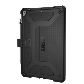 Urban Armor Gear Metropolis Folio Wallet Case For Apple iPad 10.2 7th/8th Gen - Black