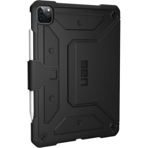 Urban Armor Gear  - Metropolis Folio Case For iPad Pro 12.9 (2020 / 2018) - Black