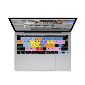 KB Covers Avid Media Composer Keyboard Cover for MacBook Pro (Late 2016+) w/ Touch Bar