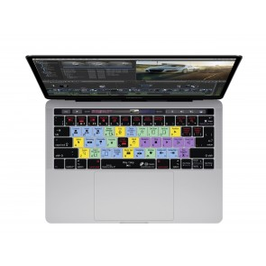 KB Covers Final Cut Pro X Keyboard Cover for MacBook Pro (Late 2016+) w/ Touch Bar