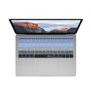"KB Covers Aspen Keyboard Cover for MacBook 12"" Retina & MacBook Pro 13"" (Late 2016+) No Touch Bar"