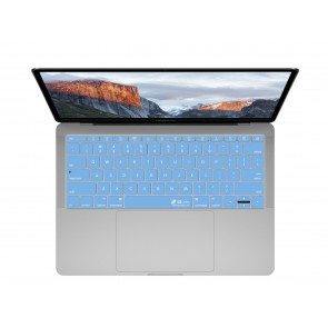 "KB Covers Blue Keyboard Cover for MacBook 12"" Retina & MacBook Pro 13"" (Late 2016+) No Touch Bar"