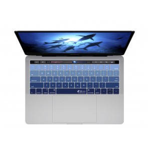 KB Covers Deep Blues Keyboard Cover for MacBook Pro (Late 2016+) w/ Touch Bar