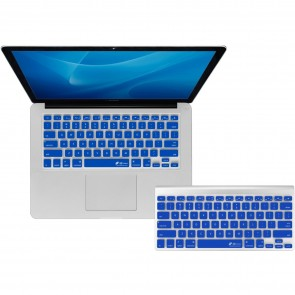 KB Covers Keyboard Cover for MacBook/Air 13/Pro (2008+)/Retina - Dark Blue (CB-M-DarkBlue)