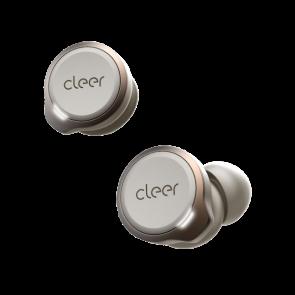 Cleer Audio ALLY Plus True Wireless Noise Canceling Headphone Warm Grey
